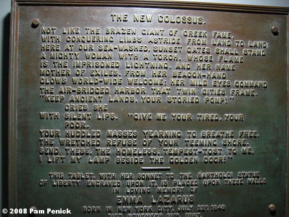 essay of emma lazarus Immediately download the emma lazarus summary, chapter-by-chapter analysis, book notes, essays, quotes, character descriptions, lesson plans, and more - everything.