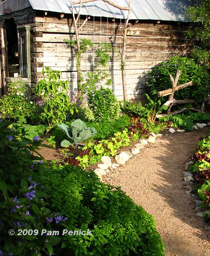 Vegetable Garden Path 434 x 529