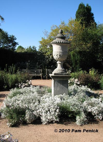 Dry Garden Design With Urns on garden with sculptures, garden with arches, garden with birdbath, garden with pots, garden with potted plants,