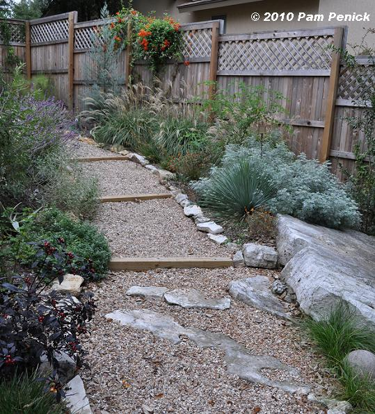 Landscaping A Sunny Hillside : After years the sunny hillside garden planted last fall has