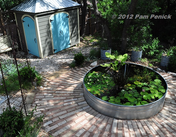 Ponds And Patios Are Made For Lazy Summer Days