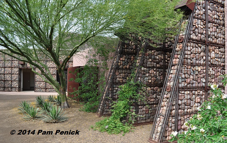 Xeriscape is not a zeroscape scottsdale xeriscape garden Gabion wall design