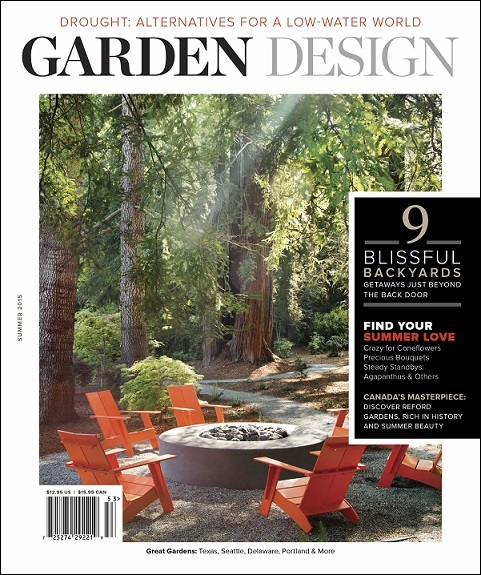Read this garden design magazine digging for Garten design magazin