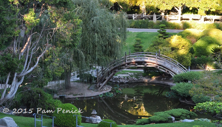 completed in 1912 the tranquil japanese garden includes a tall arching moon bridge and reflecting pond it was growing lovelier by the minute as the