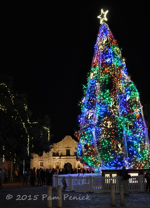 Remember The Alamo For Christmas Lights In San Antonio