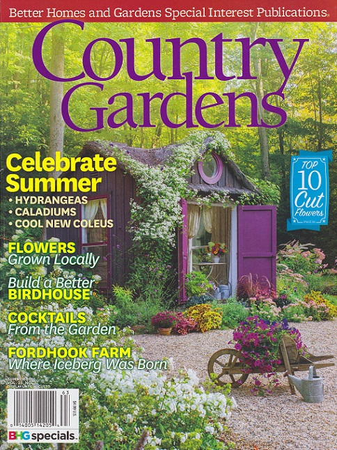... A Superstar In The Garden Writing World, Has Reviewed Your Book. I  Picked Up The The Current Issue Of Country Gardens Magazine (Summer ...