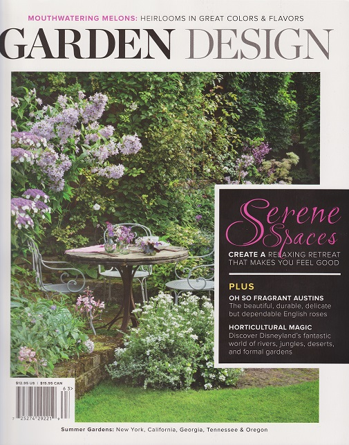 And Look For My Latest Article In The Summer 2016 Issue Of Garden Design.
