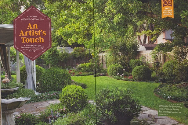Read my article in Country Gardens about using a painter\'s tricks in ...