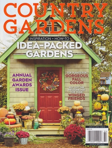 Read My Article In Country Gardens About Using A Painter S Tricks
