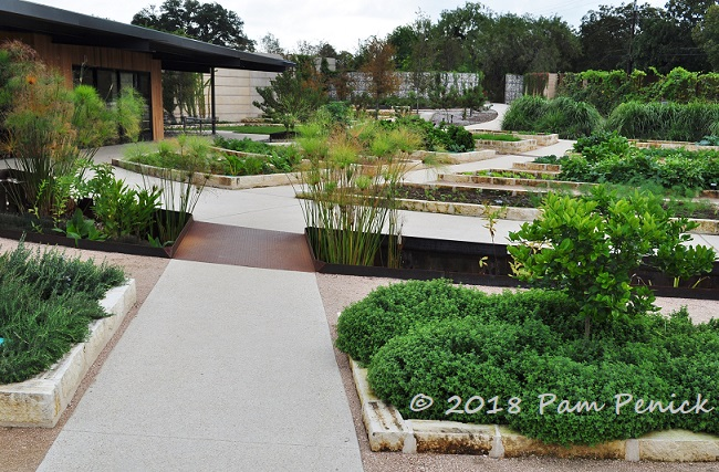 Just Inside The Gardenu0027s New Entrance Is The Zachry Foundation Culinary  Garden, Designed (along With The Other New Sections) By Austinu0027s Own  Christine Ten ...