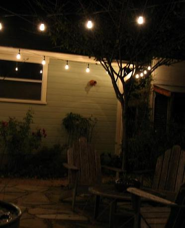 String Up Party Lights For Garden Fun And Ambience