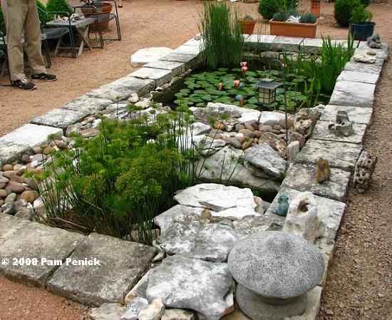 Rectangular garden ponds garden ftempo for Rectangular koi pond