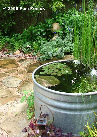 How To Make A Container Pond In A Stock Tank Digging