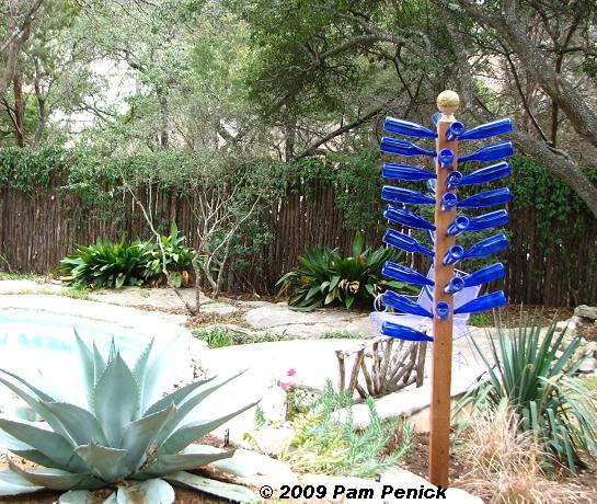 how to make a glass bottle tree