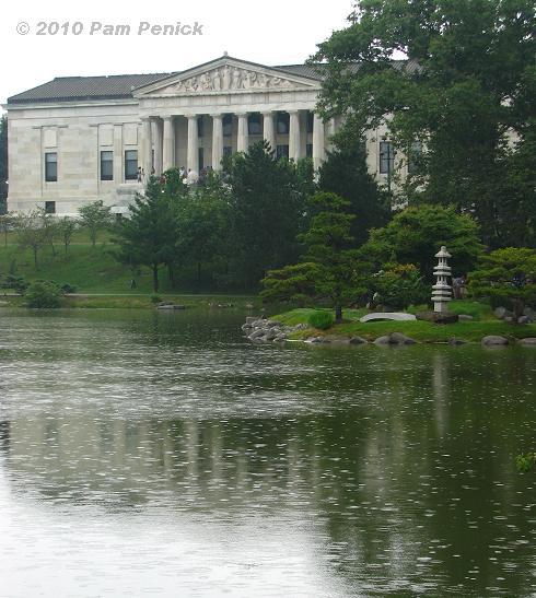 Japanese Garden In Buffalo S Delaware Park Digging
