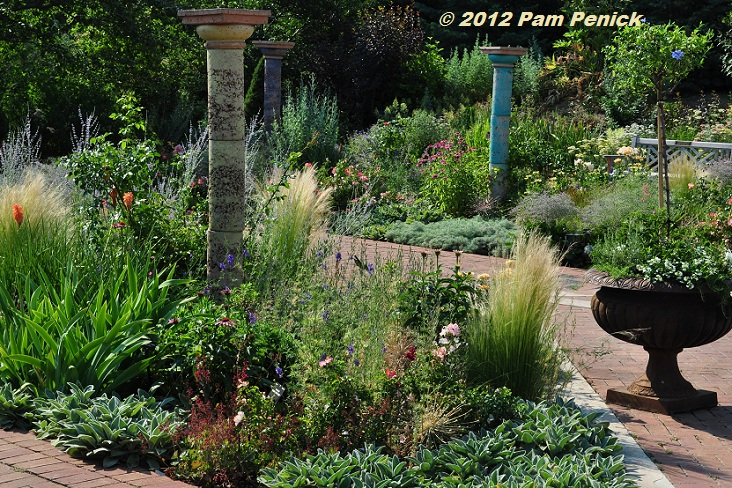 22 Colored columns & perennials - Fall Plant & Bulb Sale Denver Botanic Gardens September 27