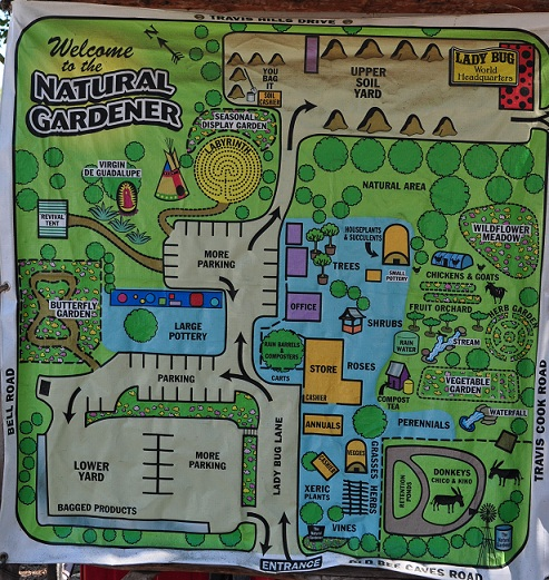 Lovely When You Visitu2014and You Must Visit; This Is An Iconic Nursery In Austinu2014youu0027ll  Find Plenty To Do, As This Nursery Map Illustrates.