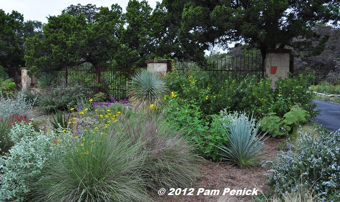 Delightful From The Street Youu0027re Greeted By A Xeric Garden Of Yuccas, Grasses,  Rosemary, And Other Fragrant Leaved Perennials, Doubtless Planted For Their  Deer ...