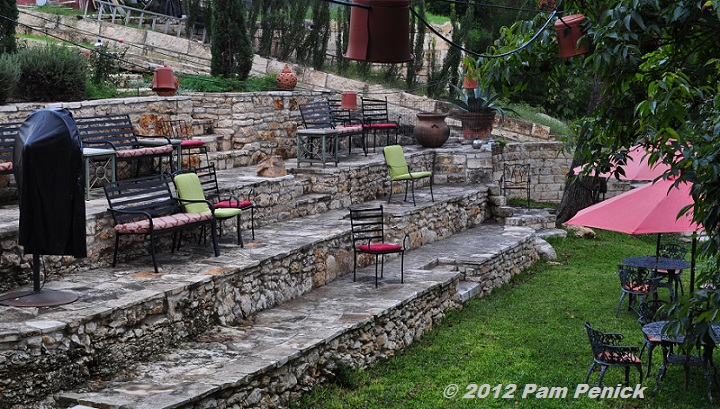 What A Treat It Must Be To Be Invited To A Performance In This Beautiful  Garden. The Amphitheater Overlooks Shoal Creek (where All That Runoff Must  Go When ...