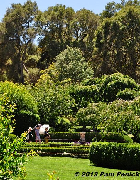 Old World beauty at Filoli: San Francisco Garden Bloggers Fling ...