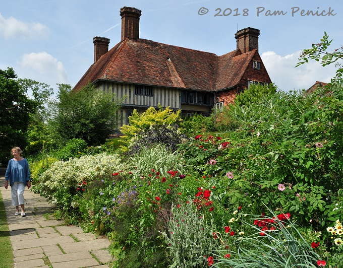 Topiary Meadow And Sunken Pond Garden At Great Dixter Part 2