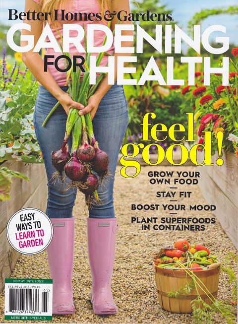 Search for my articles in Gardening for Well being journal
